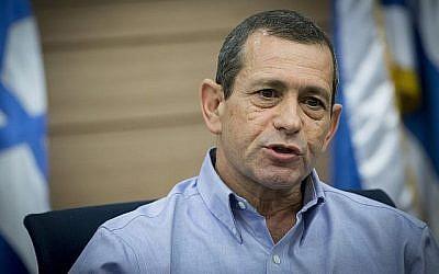 Le chef du Shin Bet, Nadav Argaman, assiste à une réunion de la commission de la Défense et des Affaires étrangères de la Knesset le 20 mars 2017 (Crédit : Yonatan Sindel / Flash90)