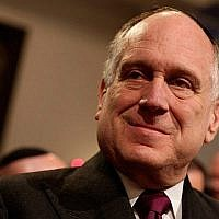 Ronald Lauder à Leipzig, en Allemagne, le 30 août 2010 (Sean Gallup / Getty Images, via JTA)
