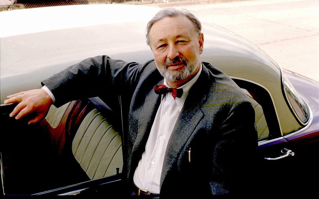 Josef Ganz dans les années 1960. (Crédit : avec l'aimable autorisation de Paul Schilperoord)