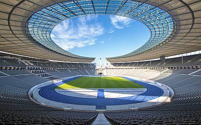 Stade olympique de Berlin. (Crédit : Martijn Mureau/CC BY-SA 4.0)