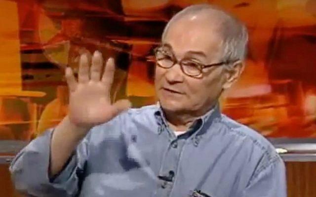 Moshe Mizrahi (Capture d'écran/YouTube)