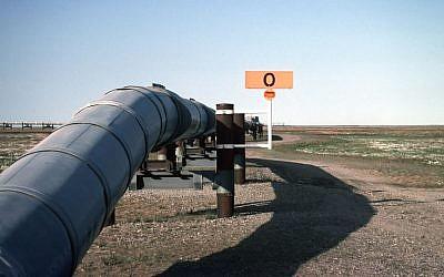 Illustration : un oléoduc en Alaska. (Crédit : domaine public)