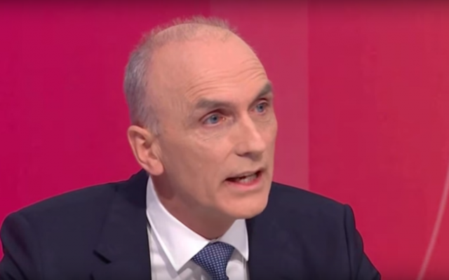 Le député travailliste britannique Chris Williamson. (Capture d'écran : YouTube)