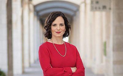 Rachel Azaria, députée de Koulanou, et candidate à la mairie de Jérusalem (Autorisation).