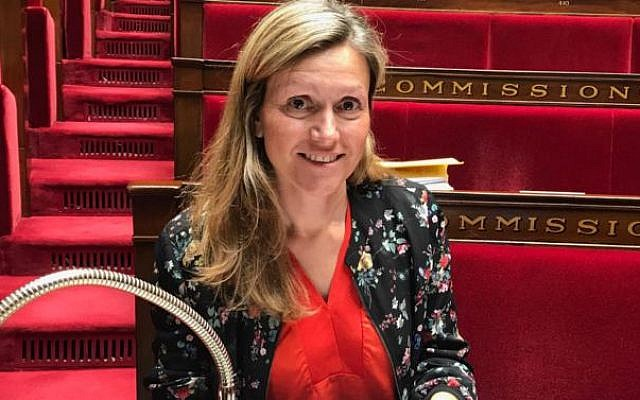 Yaël Braun-Nivet, présidente de la commission des lois de l'Assemblée nationale victime de menaces et d'insultes sexistes et antisémites (crédit: Vlgvlgvlg/Wikimedia Commons)