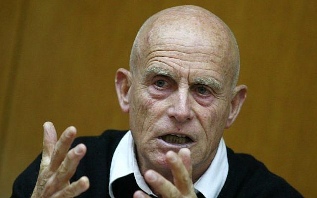 L'Ancien chef du Shin Bet Ami Ayalon. (Olivier Fitoussi / Flash90)