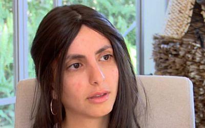 Roni Cohen. (Capture d'écran : Hadashot news)
