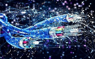 Image illustrative d'une connexion par fibre optique (alphaspirit; iStock by Getty Images)