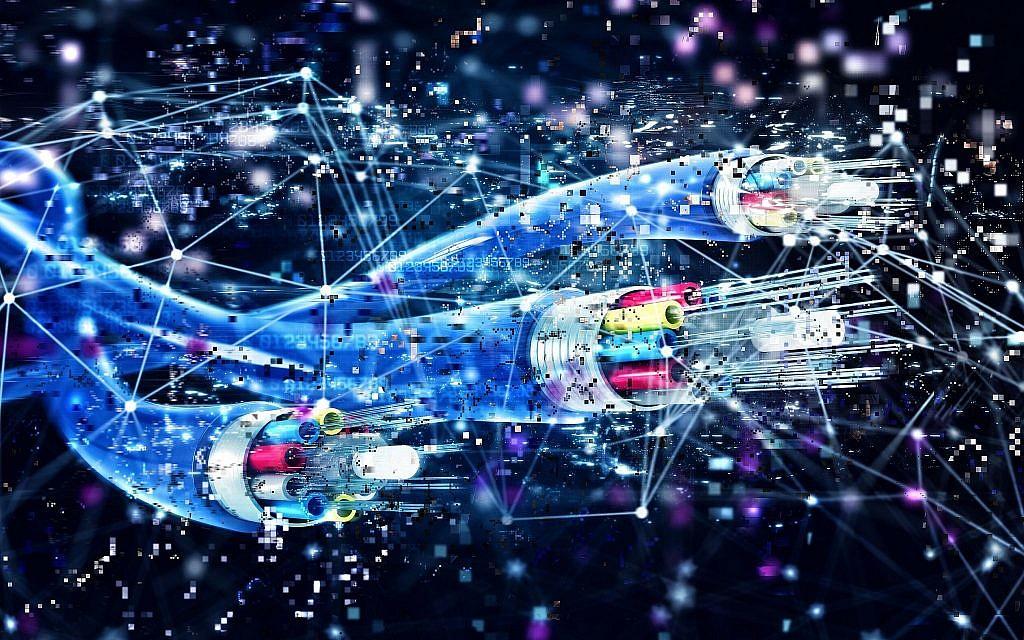 Image illustrative d'une connexion par fibre optique (alphaspirit; iStock by Getty Images)