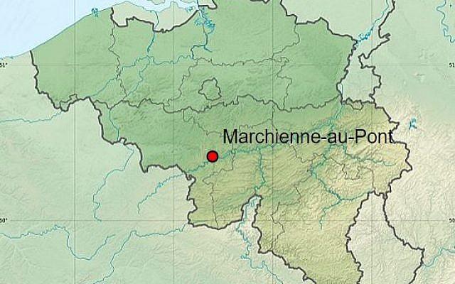 Marchienne au Pont, en Belgique. (Crédit: Eric Gaba – Wikimedia Commons user: Sting)
