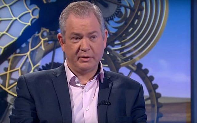 L'ancien parlementaire du Labour Tom Harris. (Capture d'écran)