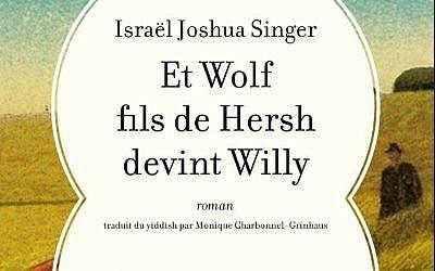 """Couverture du livre qui inspiré la pièce """"Les aventures d'un paysan juif"""" (Crédit: capture d'écran L'Antilope)"""