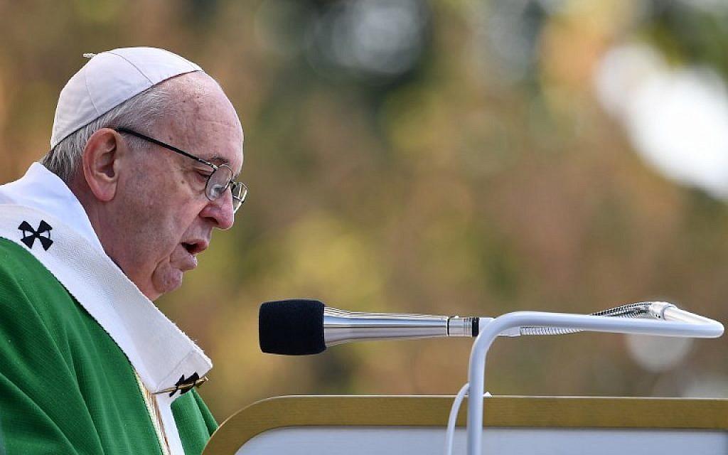 Le pape François exprime sa préoccupation face à la hausse des actes antisémites