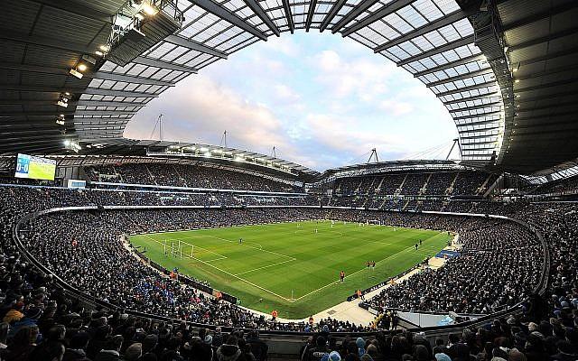 Stade de Manchester City. (Crédit : CC BY 2.0)