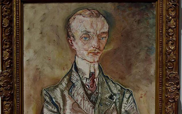 """Le portrait du """"Marquis Joseph de Montesquiou-Fezensac"""" (1910), réalisé par Kokoschka (Crédit : CC BY Richard Mortel, Flickr)"""