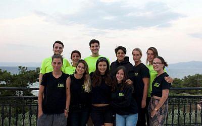 Des volontaires de l'ONG ERCI - Emergency Response Centre International fondée et dirigée par Panos Moraïtis. (Copie d'écran Facebook)