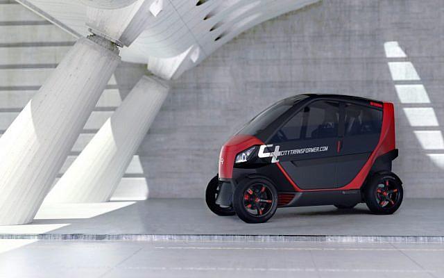 Illustration d'une voiture  City Transformer  (Autorisation)