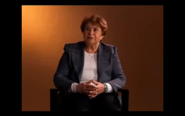 Ida Grinspan (Capture d'écran : YouTube)