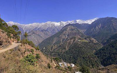 Capture d'écran d'une vidéo sur la région Dharamshala, au nord de l'Inde (Capture d'écran : YouTube)