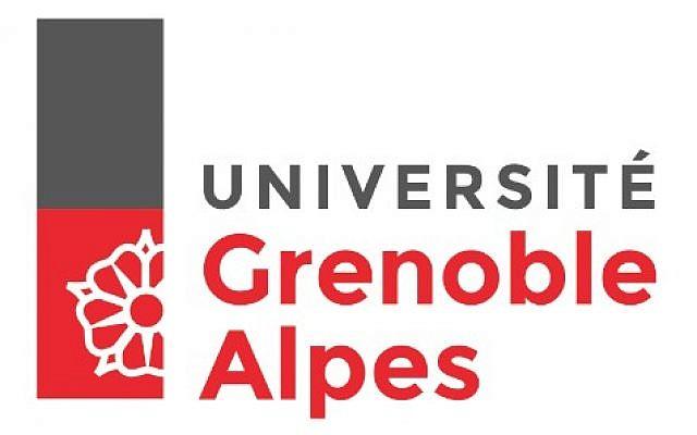Logo Université Grenoble-Alpes. (Crédit : Wkimédia)