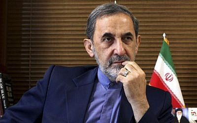 Ali Akbar Velayati, haut-conseiller du chef suprême iranien, l'Ayatollah Ali Khamenei. (Crédit : AP Photo/Ebrahim Noroozi)