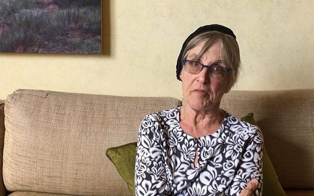 """Capture d'écran d'un message vidéo du rabbin Rachel Cowan au Congrès demandant aux législateurs de ne pas abroger la loi """"Affordable Care Act"""", le 20 juillet 2017. (YouTube / Auburn Seminary)"""