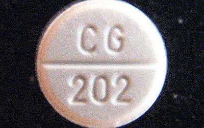 Une pilule de Ritaline (libre de droit)