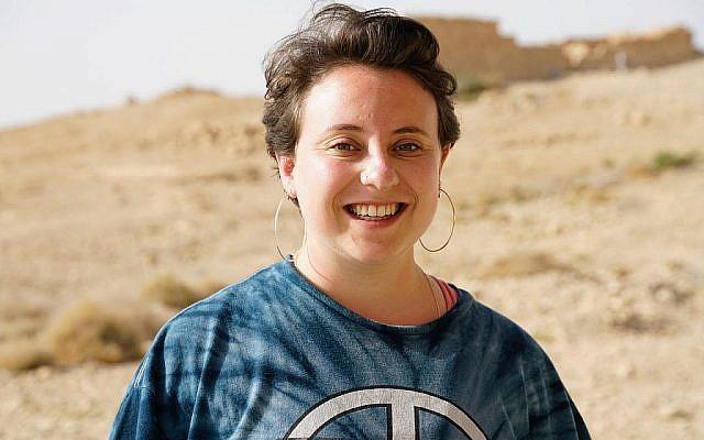"""Emma de l'émission """"Nous sommes des Juifs britanniques"""", [We Are British Jews] de la BBC. (Avec l'aimable autorisation de Lion Television/ Peter Gordon)"""