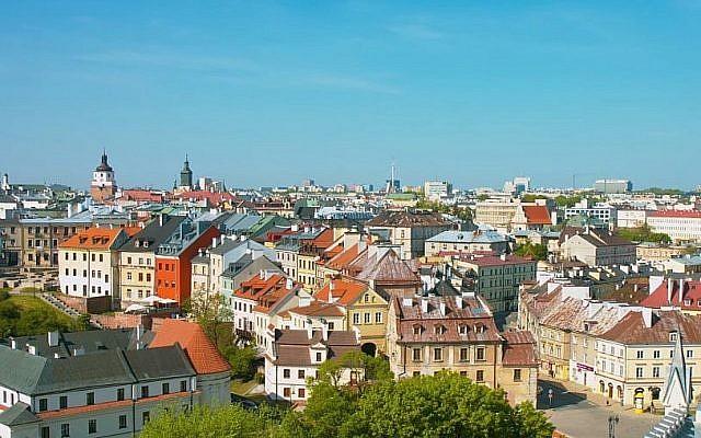 Une vue de Lublin, Pologne (Capture d'écran : YouTube)