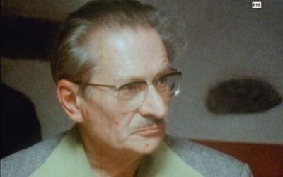 Le négationniste Gaston Amaudruz est mort le 7 septembre 2018 en Suisse (Capture d'écran NotreHistoire.ch)