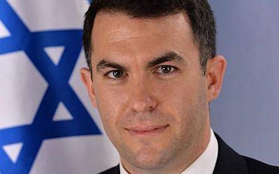 David Keyes, porte-parole du Premier ministre Benjamin Netanyahu (Facebook)