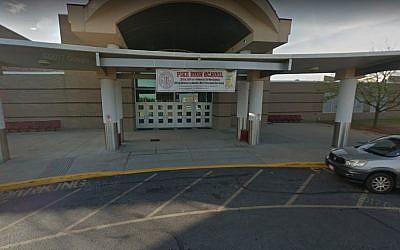 Le lycée Pike, à Indianapolis (Capture d'écran :  Google Maps)