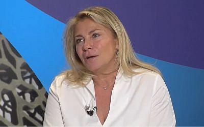Caroline Pozmentier, vice-présidente de la région Paca, ici en 2017 (Crédit: capture d'écran Provence Azur/Youtube)
