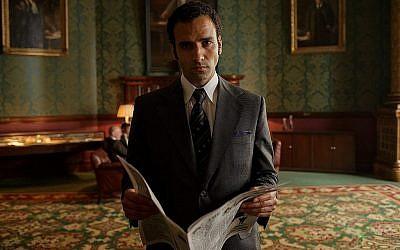 """Scène de """"The Angel"""" sur Netflix. Ashraf Marwan a fourni au Mossad de précieuses informations dans les années 70. (Nick Briggs/Netflix)"""
