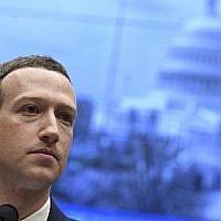 Mark Zuckerberg, PDG et fondateur de Facebook, témoigne lors d'une audience de la Commission de l'énergie et du commerce de la Chambre des représentants des États-Unis sur Facebook au Capitole à Washington, DC, le 11 avril 2018. (AFP PHOTO / SAUL LOEB)