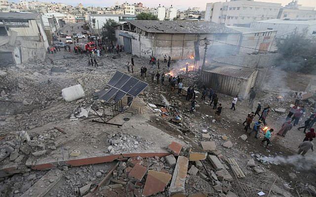 Six morts dans une opération de Tsahal dans la bande de Gaza