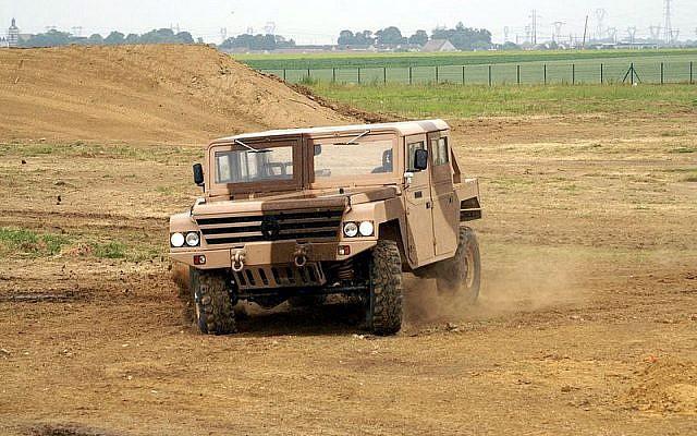 Le Sherpa 2 est un véhicule tactique léger, produit par Renault Trucks Defense et vendu à l'Egypte. 'Crédit : Wikimedia Commons)