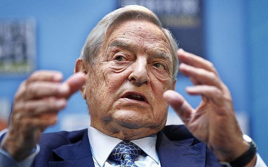 George Soros prend la parole lors d'un forum aux assemblées annuelles du FMI et de la Banque mondiale à Washington, le 24 septembre 2011. (Crédit : Manuel Balce Ceneta/AP)