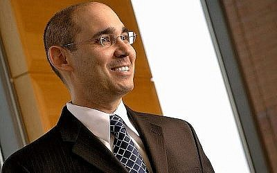 Amir Yaron, professeur de finance. (Crédit : The Wharton School, University of Pennsylvania)