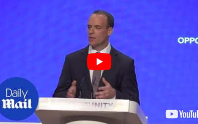 Dominic Raab (Crédit : capture d'écran YouTube)