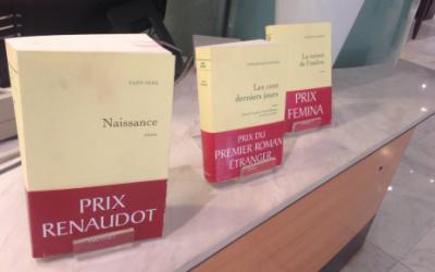 Prix littéraires de la Maison d'édition Grasset (Flickr / photo libre de droits)