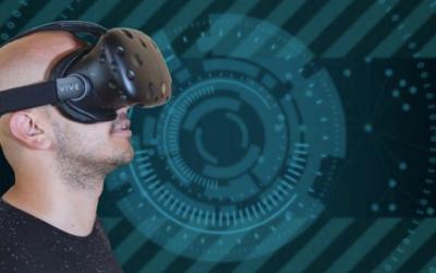 Regarder les étoiles avec des lunettes de réalité virtuelle et des écrans 3D fait partie des activités de la Semaine mondiale de l'espace parrainée par l'Agence spatiale israélienne (avec la permission de l'Agence spatiale israélienne).