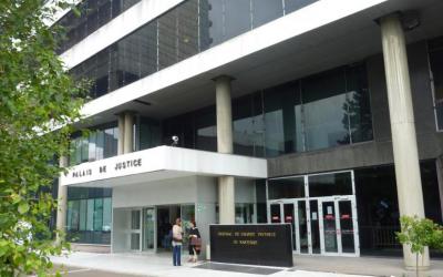 Entrée de la cour d'Assises des Hauts-de-Seine (Crédit : site officiel de la cour)
