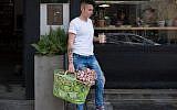Le magasin Meshek Barzilay Delicatessan enseigne installée dans la ville appelée la Vegan Nation, Tel Aviv (Autorisation Alex Mathiot)