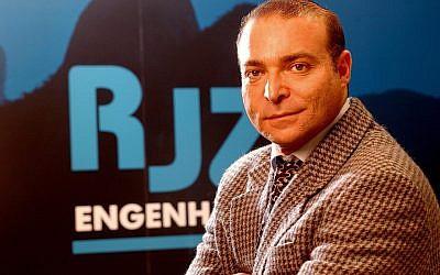 Rogerio Jonas Zylbersztajn, un homme d'affaires juif brésilien et philanthrope, décédé à 58 ans. (Crédit :JTA)