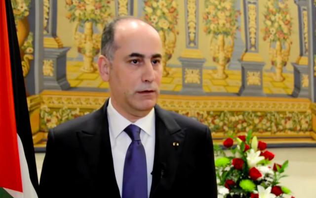Ghassan Majali, le nouvel ambassadeur jordanien en Israël. (Crédit : capture d'écran Youtube)