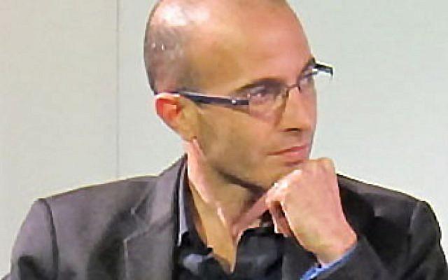 Yuval Noah Hariri en 2013 (Crédit: Daniel Naber/Wikimedia Commons)