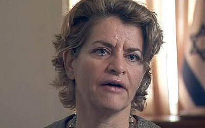 Amira Oron (Crédit : capture d'écran via Channel10)
