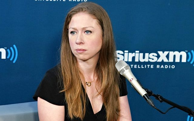 Chelsea Clinton à New York, le 13 septembre  2018.  (Crédit : Cindy Ord/Getty Images for SiriusXM)