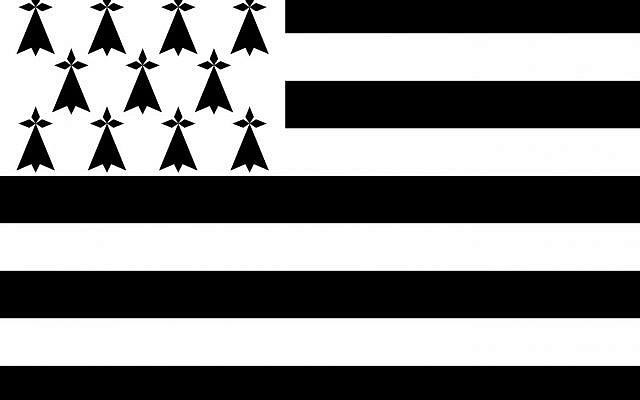 Drapeau breton (Domaine public)
